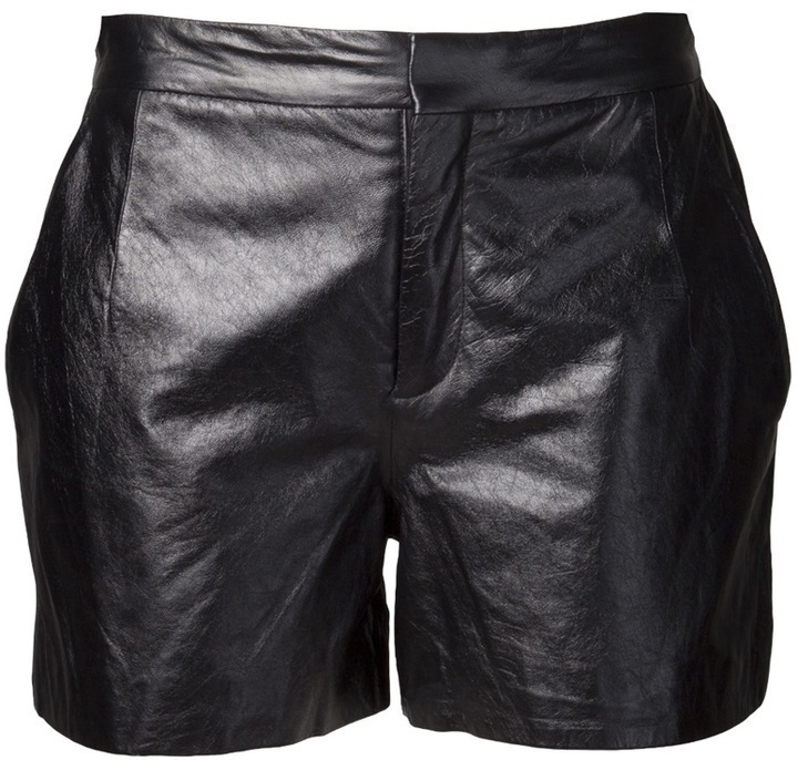Theyskens' Theory Leather Short