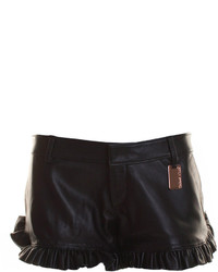 Thomas Wylde Leather Shorts