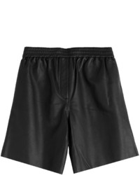 Carven Leather Shorts