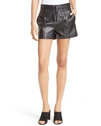 Frame Leather Shorts