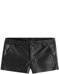 Zadig & Voltaire Leather Shorts