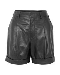 Philosophy di Lorenzo Serafini Leather Shorts