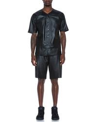 Lr Leather Ball Shorts