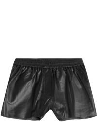 McQ by Alexander McQueen Mcq Alexander Mcqueen Leather Shorts