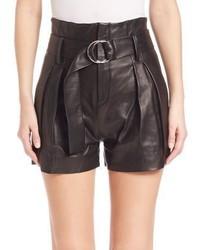 IRO Metz Leather Shorts