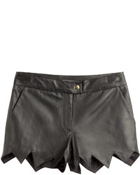 Moschino Cheap & Chic Moschino Cheap And Chic Leather Shorts