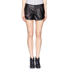 Nobrand Leather Butterfly Shorts