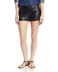 MinkPink North Star Faux Leather Short