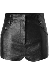 Balmain Pierre Leather Shorts