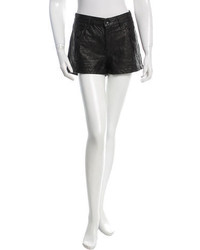 Rag & Bone Quilted Leather Shorts