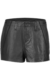 Rag and Bone Rag Bone Leather Shorts
