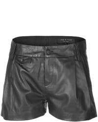 Rag and Bone Rag Bone Leather Tennis Shorts