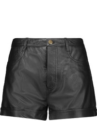 RED Valentino Redvalentino Leather Shorts
