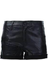 RtA Olivia Leather Shorts