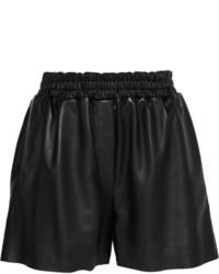 Acne Studios Salt Light Leather Shorts