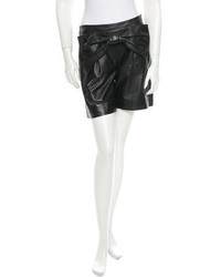 See by Chloe See By Chlo Leather Shorts