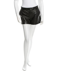 Marc by Marc Jacobs Textured Leather Shorts