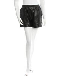 Alexander Wang Textured Leather Shorts