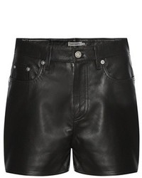 Calvin Klein Jeans To Mytheresacom Leather Shorts