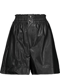 Etoile Isabel Marant Toile Isabel Marant Jervis Faux Leather Shorts