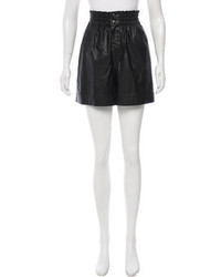 Etoile Isabel Marant Toile Isabel Marant Vegan Leather High Rise Shorts