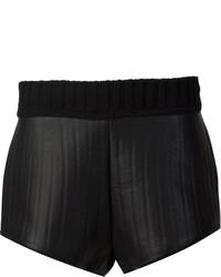 Vera Wang Bonded Leather Shorts