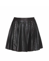 Alice + Olivia Akira Leather Skirt