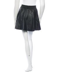 33b062dad4 Parker Leather Pleated Mini Skirt, $75 | TheRealReal | Lookastic.com