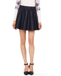 Club Monaco Lyn Faux Leather Skirt