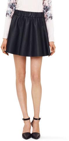 9d1b645e26 Club Monaco Lyn Faux Leather Skirt, $149 | Club Monaco | Lookastic.com