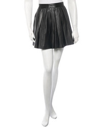 Opening Ceremony Pleated Leather Skirt