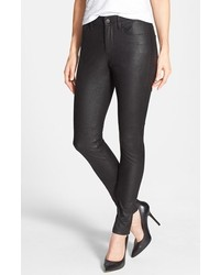 NYDJ Alina Stretch Faux Leather Skinny Jeans