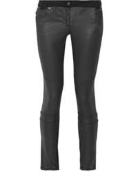 Belstaff Layton Coated Mid Rise Skinny Jeans