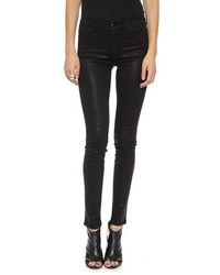 Koral Coated High Rise Skinny Jeans