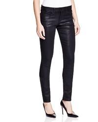 Joe's Jeans Coated Skinny Jeans In Black