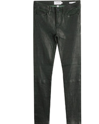 Frame Denim Le Skinny De Jeanne Leather Pants