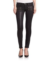 Paige Edgemont Ultra Skinny Coated Jeans