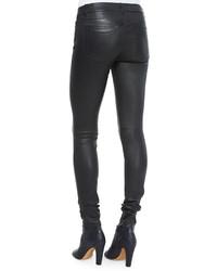 Vince Five Pocket Leather Jeans