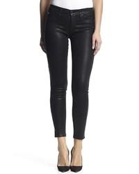 Hudson Jeans Nico Skinny Noir Coated