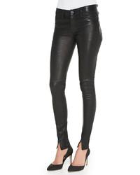Hudson Juliette Leather Skinny Pants