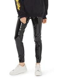 Jamie vinyl skinny jeans medium 3694660