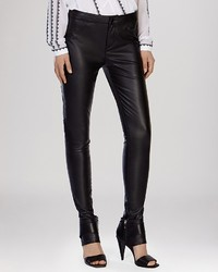 Karen Millen Jeans Faux Leather