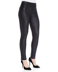 Jen7 Leather Like Ponte Skinny Jeans