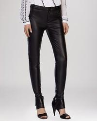 Karen Millen Jeans Faux Leather