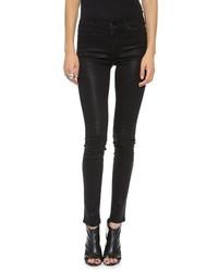 Koral Coated High Rise Skinny Jeans