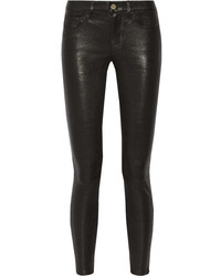 Frame Denim Le Skinny Stretch Leather Pants