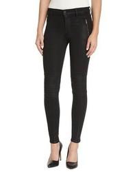 Hudson Luna Star Skinny Jeans Noir