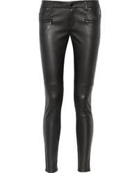 MICHAEL Michael Kors Michl Michl Kors Leather Skinny Pants