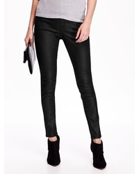 Old Navy Mid Rise Coated Jeggings