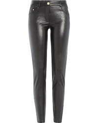 Moschino Boutique Coated Skinny Jeans